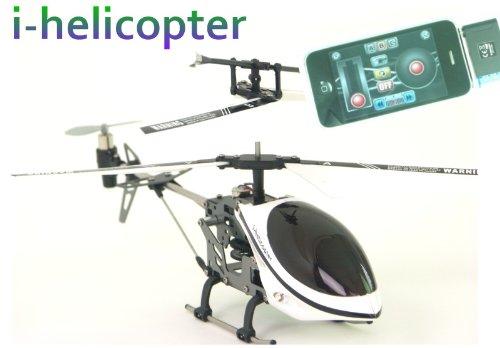 Preisvergleich Produktbild i-Helicopter mit Fernbedienung über i-Phone, i-Pad oder iPod touch oder andere Android-Telefone (weiß/silber)