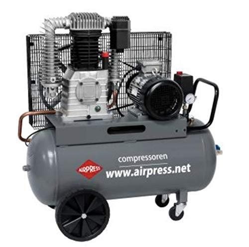 Airpress Druckluft Luft Kolben Kompressor | 7,5 PS | 90 L | 11 bar | HK1000-90 360645 | Profi