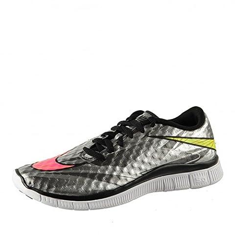 Nike Free 5.0 Hypervenom, Chaussures de sport Unisexe enfant chrome