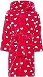 NAME IT Mädchen Bademantel mit Kapuze und Gürtel NMFRAVALUTA, Größe:116, Farbe:Virtual pink