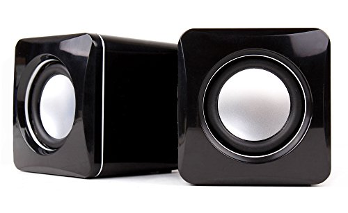 DURAGADGET Portable USB Powered Speakers - No Mains Supply Required! For Laptops Including Haier X5 14