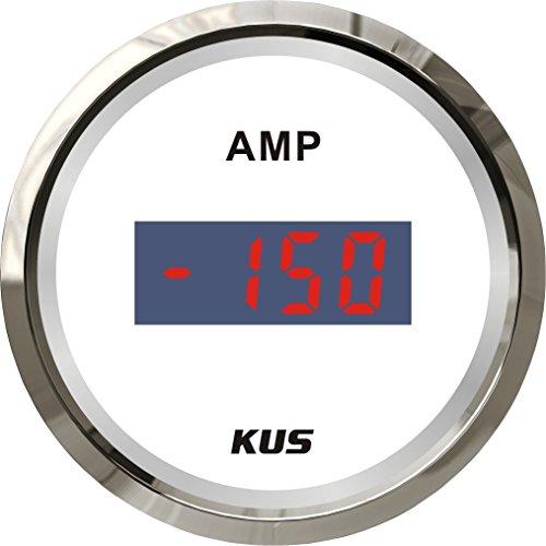 Kus Digital Ampèremètre Amp Gauge 150 A courant avec unité de Pick-up 52 mm (5,1 cm) 12/24 V