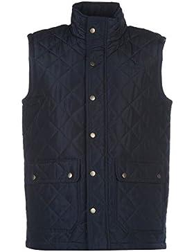 Pierre Cardin–Chaleco acolchado para hombre azul marino sin mangas chaleco Chaqueta para hombre ropa, azul marino...