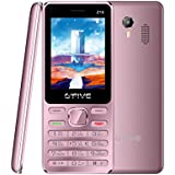 G'Five Z18 Rose Gold, 2.4 Inch, Dual SIM Mobile Phone With Camera, 1200mAh Battery, Wireless FM, Vibration And 1 Year Warranty