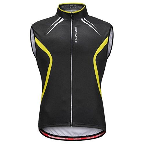 Baoblaze Fahrrad-Weste ärmellos Unisex atmungsaktiv für Fahrrad MTB Sport - XL - Herren Rad-weste