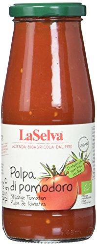 La Selva Bio Tomatensauce mit stückigen Tomaten, vegan, 420 ml (La Selva)