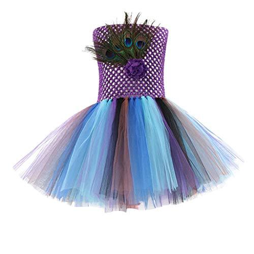 Allence Damen Niedlichen Kleinkind Kinder Baby Mädchen Halloween Kleidung Kostüm Kleid Party Kleider + Hut Outfit Cosplay Tanz Rave Für - Niedlichen Kleinkind Mädchen Kostüm