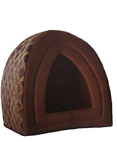 Cama Sady para mascotas, con forma de iglú, diseño acolchado, bien aislada, para perros y gatos