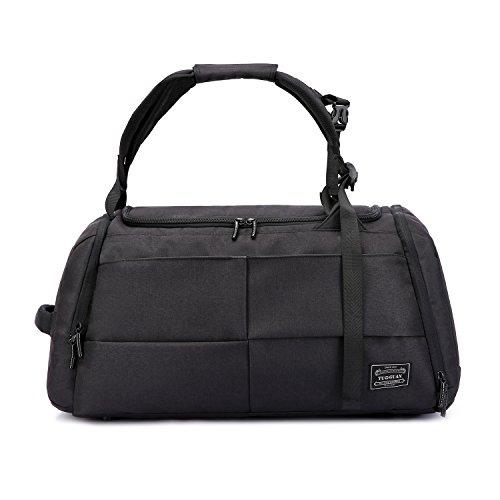 Valleycomfy Sport Bag Gym Sacs grande capacité avec des chaussures de poche main / épaule / Cross-Body Bag Fitness bagages bagages Mot de passe Anti-v...