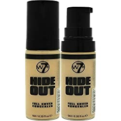 W7 Hide Out Full Cover Concealer 9ml-medium