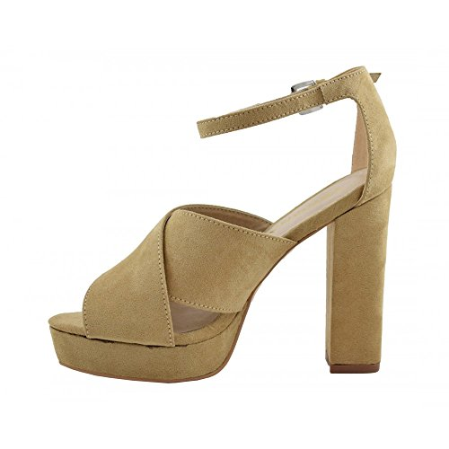 Benavente , Damen Pumps Camel