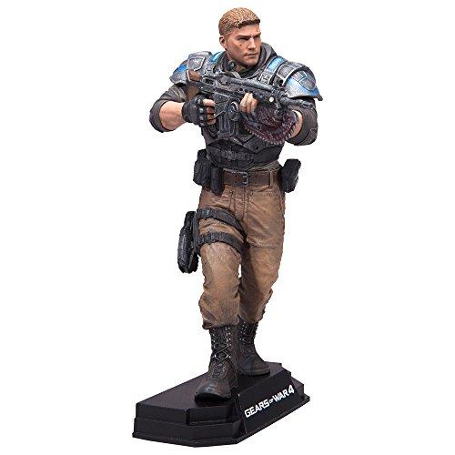 McFarlane- Gears of War 4 JD Fenix Figurine, 787926120059, Standard, 17 cm
