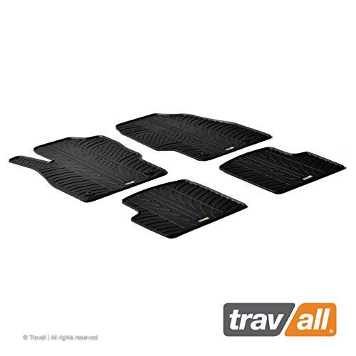 Travall® Mats Gummifußmatten - Original Travall® Zubehör TRM1028 – Allwettermatten nach Maß