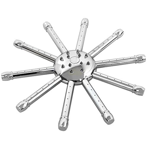Grafner® Design Regendusche Duschkopf Duschbrause Anti-Kalk-Düsen Kugelgelenk 23cm (Duschkopf Kugelgelenk)