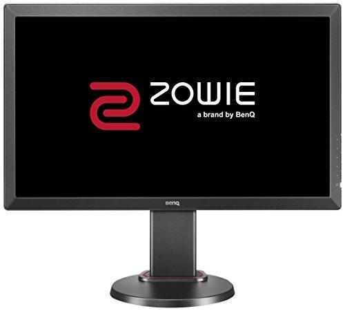 Gaming Benq Monitore (BenQ ZOWIE RL2455T 60,96 cm (24 Zoll) eSports Monitor (DVI, HDMI, 1ms Reaktionszeit, Höhenverstellung, Black eQualizer) schwarz)