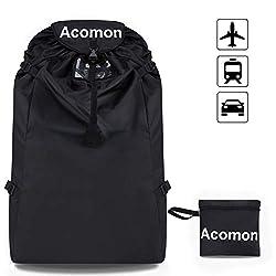 Acomon Kindersitz Tasche, Gate Check Reisetasche, Universal Kindersitz Schutztasche für Autositze, Babyschale, Kindersitze für Neugeborene Wasserdicht Staubdicht Transportable Reisetasche für Autositz