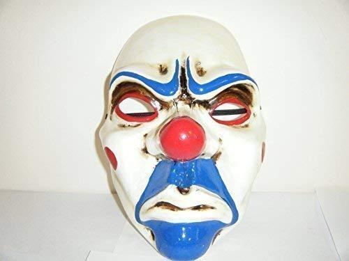 ayday Batman Dark Night Bozo der Clown Maske - Thermo Kunststoff ()