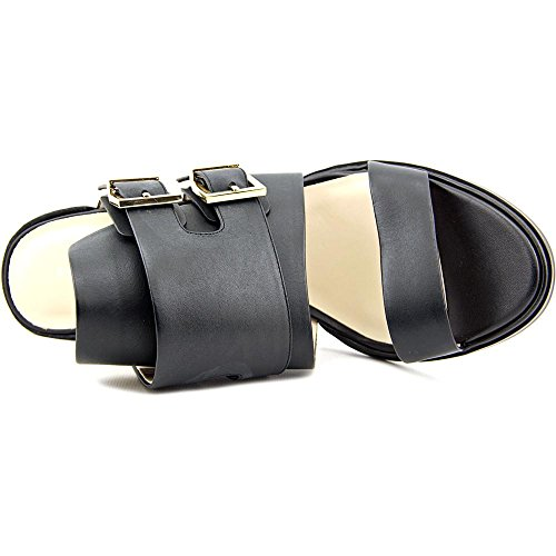 Kenneth Cole NY Salem Femmes Cuir Sabots Black
