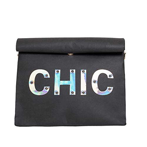 Zarapack , Pochettes femme - Black without Chain