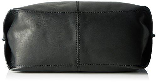 Clarks Taceno Cove, Sacs Portés Main Femme, 11x32x41 cm Noir (Black Leather)