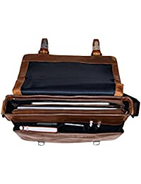 "Jost Messenger Bag M 11"" Glasgow Christmas Edition Leather l"