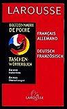 Dictionnaire de poche : Allemand/français, français/allemand