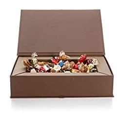 Idea Regalo - Venchi Elegante Scatola con Cioccolatini Assortiti, 1500 gr