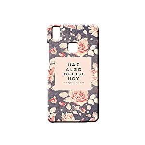 BLUEDIO Designer Printed Back case cover for VIVO V3 - G0701