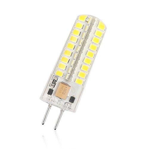 TiooDre GY6.35 LED-Leuchtmittel, 12 V, 7 W, kaltweiß, G6.35 Halogenlampen 30 W-50 W Ersatz G6.35 Bi-Pin Sockel JC 12 V LED Birne, GY6.35 Kapsel LED Leuchtmittel für Innenbeleuchtung, Signallampen - Gy6.35 Kapsel