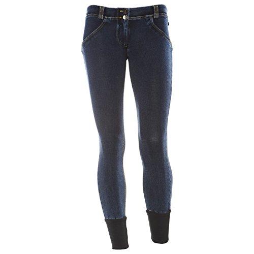 Freddy WRUP6DJ3E Pantalon Femme Dark Blue S