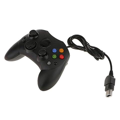 Contrôleur de Jeu Manette Filaire pour Xbox - Noir