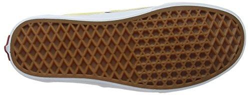 Vans Authentic, Scarpe Running Unisex-Adulto Giallo (Dusky Citron/true White)