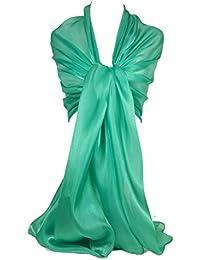 ace6bacdd2d0 GFM logo iridescente Sheer Shimmer-Sciarpa stola mantella