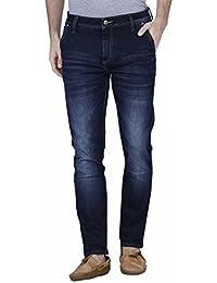 Raa Jeans Slim Fit Men's Dark Blue Jeans