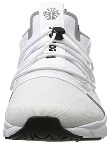 Reebok Furylite X, Sneakers Basses Homme Blanc (White/black)