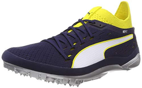 63facced6 Puma Unisex Adults' Evospeed Netfit Sprint 2 Track & Field Shoes, Yellow  (Blazing