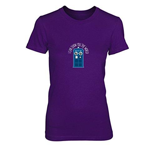 Show you the World - Damen T-Shirt, Größe: -