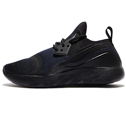 Nike Lunarcharge Essential Herren Running Trainer 923619 Sneakers Schuhe, Black Dark Obsidan Volt 007 - Größe: 40.5 EU