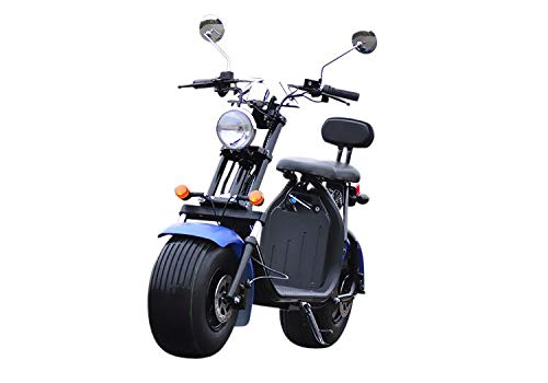 Scooter eléctrico cocoscoot citycoco 1500W 60km autonomía, homologado.