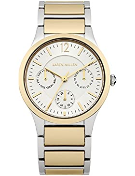 Karen Millen Damen-Armbanduhr Analog Quarz KM141GM
