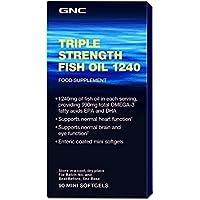Gnc Aceite de pescado de triple concentración 1240