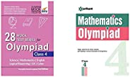 28 Mock Test Series for Olympiads Class 4 Science, Mathematics, English, Logical Reasoning, Gk & CyberOlym
