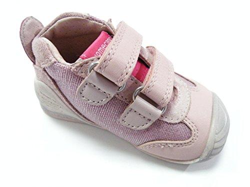Biomecanics Schuh Klettverschluss ersten Schritte weiblich Pink Rosa