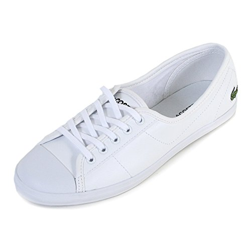 Lacoste Donna Bianco Ziane BL 1 SPW Sneaker-UK 5