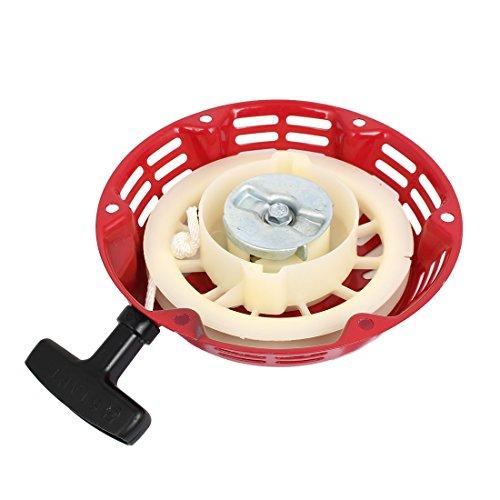 Sourcingmap–a15121500ux0036forma redonda mango de plástico Motor rocwood–Arrancador manual–rojo/Beige/plateado/negro