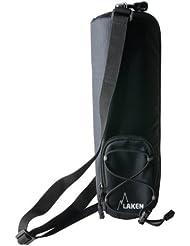 Funda térmica de Laken aislante con bandolera Negro 1,5 Litro