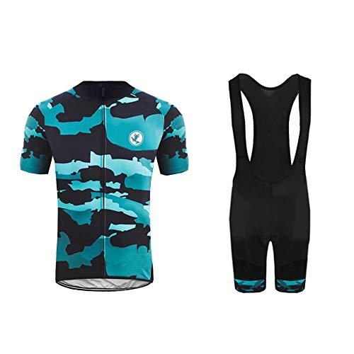 Uglyfrog+ 2019 Herren Pro Rennen Team MTB Radbekleidung Radtrikot Kurzarm und Radhosen Anzug Cycling Jersey Shorts Suit -