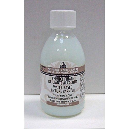 Maimeri Vernice Finale Brillante All'Acqua 500 Ml 668 Per Pittura Olio E (Emulsione Di Vernice)