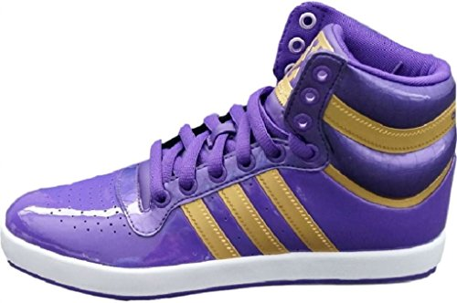 Adidas Originals Top X Mid High Sneaker EUR 38,5 UK 5,5 lila Schuhe Stiefel Boots