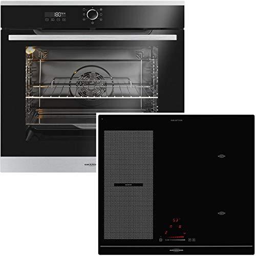 Oranier KXI 2062 - Set di fornelli da incasso, 60 cm, con piano cottura flessibile, a induzione